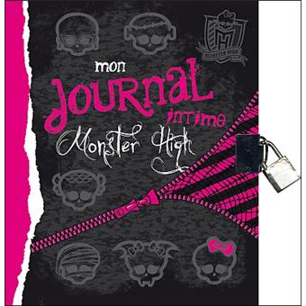 monster high monster high mon journal intime collectif broch achat livre achat prix. Black Bedroom Furniture Sets. Home Design Ideas