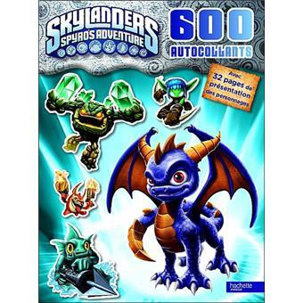 600 stickers Skylanders