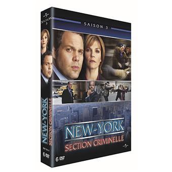 New York Section CriminelleNew York Section Criminelle - Coffret intégral de la Saison 3