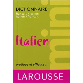 Mini Dictionnaire Francais Italien Italien Francais