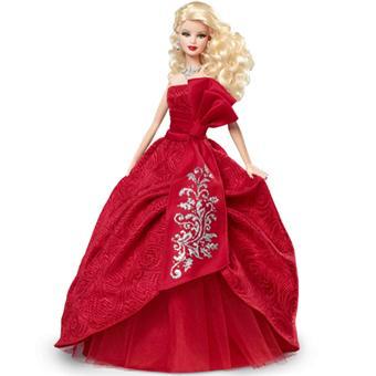 Barbie Joyeux Noel Mattel Barbie Joyeux Noel   Poupée   Fnac.be