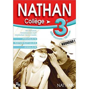 Nathan College 3eme