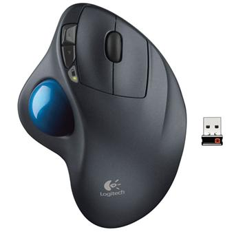 logitech m570 trackball souris sans fil souris. Black Bedroom Furniture Sets. Home Design Ideas