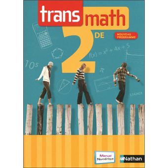 Transmath 2de 2010 Compact Livre Compact De L Eleve Edition 2010 Broche Raymond Barra Barros Jean Michel Patrick Benizeau Achat Livre Fnac