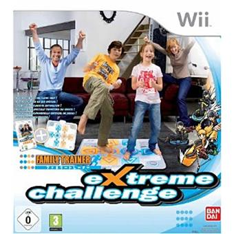 FAMILY TRAINER EXTREME SPORTS + MAT TBA WII