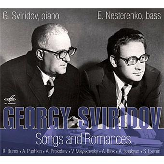 Songs & Romances/ G. Sviridov & E. Nesterenko