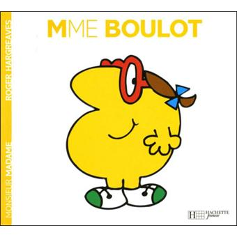 Monsieur madame madame boulot roger hargreaves broch achat livre fnac - Collection livre monsieur madame ...