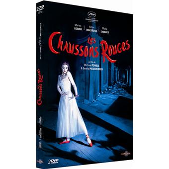 CHAUSSONS ROUGES-2 DVD-VF