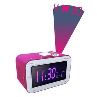 bigben rr30 avec projecteur rose et motif papillon radio r veil achat prix fnac. Black Bedroom Furniture Sets. Home Design Ideas
