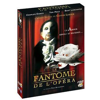 Le Fantôme de l'Opéra - Coffret 2 DVD