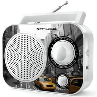 Radio FM MUSE M060NY BLANC NEW YORK