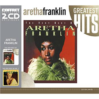 Box Set The Very Best Of Aretha Franklin Vol 1 & 2 - 2 CD
