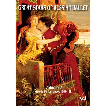 GREAT STARS OF RUSSIAN BALLET VOL.2/DVD