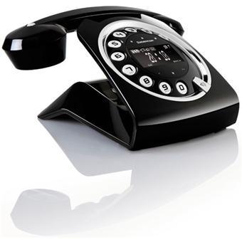 Téléphone fixe SAGEM SIXTY NOIR SOLO AVEC REPONDEUR