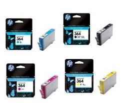 Cartouche Hp 364 Value Pack Pack De 4 Cartouches Cartouche D Encre Couleur Achat Prix Fnac