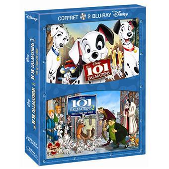 Les 101 Dalmatiens - Les 101 Dalmatiens 2 : Sur la trace des héros - Coffret Blu-Ray