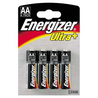 energizer 4 piles alcalines lr6 aa ultra piles achat prix fnac. Black Bedroom Furniture Sets. Home Design Ideas
