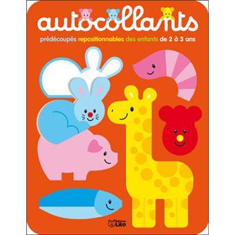 autocollants pr d coup s repositionnables des enfants de 2 3 ans tome 3 broch jordi. Black Bedroom Furniture Sets. Home Design Ideas