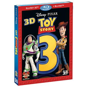 Toy StoryToy Story 3 - Blu-Ray - Versions 2D et 3D