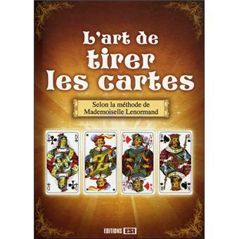 Art de tirer les cartes selon la methode de mlle lenormand  - broché ... d20465c98add