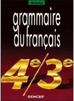 Grammaire Du Francais 4e 3e