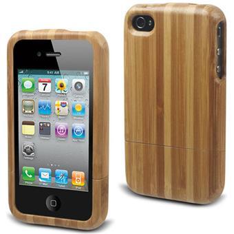 Muvit Bio Coque Bois pour iPhone 4