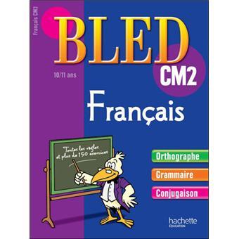 Bled Cahier De Francais Cm2