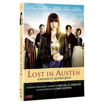 lost in austen orgueil et quiproquos dvd zone 2 jemima rooper alex kingston tous les dvd. Black Bedroom Furniture Sets. Home Design Ideas