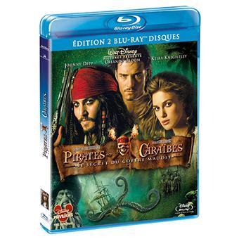Pirate Des CaraïbesPirates des Caraïbes 2 - Le Secret du coffre maudit - Edition Blu-Ray