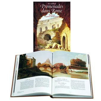 Promenades dans Rome illustré par les peintres du romantisme
