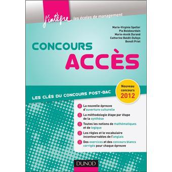 Concours Accès - 5e éd. - Tout-en-un