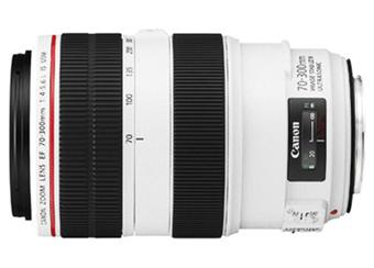 Objectif reflex Canon EF 70 - 300 mm f/4.0 - 5,6 L IS USM
