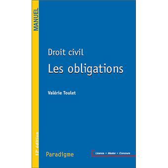 Droit Civil Obligations Responsabilite Civile Broche Valerie