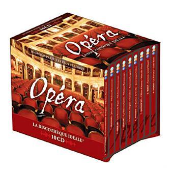 La Discothèque idéale Opéra - Coffret 10 CD