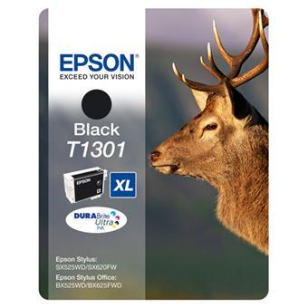 Cartouche d'encre Epson T1301 XL Cerf - Noir