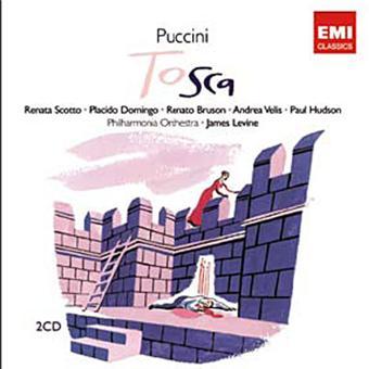 PUCCINI  TOSCA    2CD