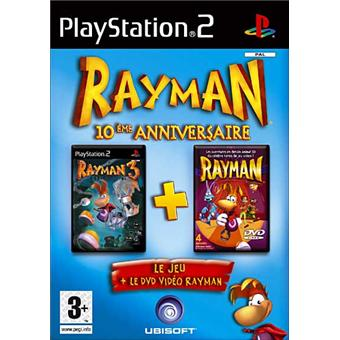 rayman anniversaire 10 ans jeux vid o achat prix fnac. Black Bedroom Furniture Sets. Home Design Ideas