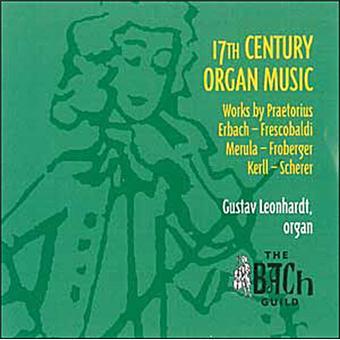 Musique pour orgue du 17ième siècle