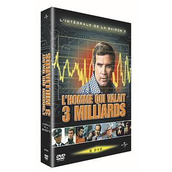 L'Homme qui valait trois milliardsL'Homme qui valait trois milliards - Coffret intégral de la Saison 3