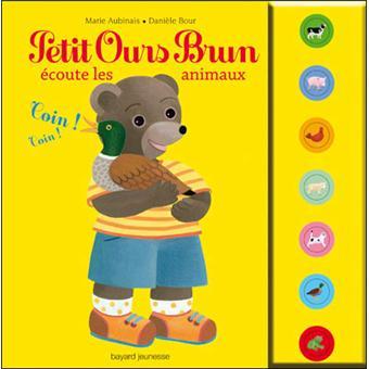 Petit Ours BrunPetit Ours Brun écoute les animaux - livre sonore