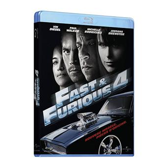 fast and furious fast and furious 4 blu ray coffret dvd blu ray justin lin vin diesel. Black Bedroom Furniture Sets. Home Design Ideas