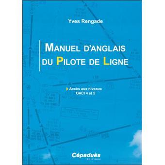 Manuel D Anglais Du Pilote De Ligne