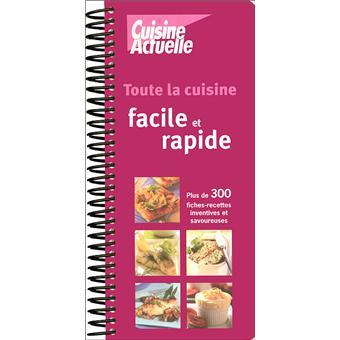 livre cuisine facile et rapide
