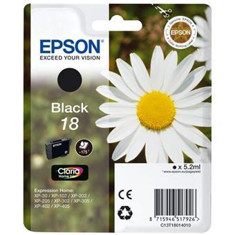 Cartouche d'encre Epson Série Pâquerette 18 - Noire