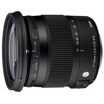 Sigma DC SLR Lens C 17 - 70mm f / 2.8 - 4.0 OS HSM Macro Line Contemporary; Canon mount