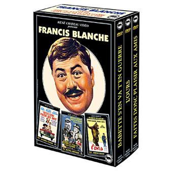 FRANCIS BLANCHE-COFFRET-3 DVD-VF-BABETTE S EN VA T EN