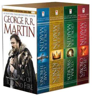 Game Of Thrones Le Trone De Fer A Song Of Ice And Fire Boxed Set Books 1 4 A Game Of Thrones A Clash Of Kings A Storm Of Swords A Feast For