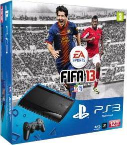 Console PS3 Ultra Slim 12 Go Sony + FIFA 13 – Console Playstation 3 Sony