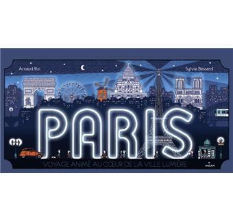 Paris , promenade animée au coeur de la plus belle ville du monde