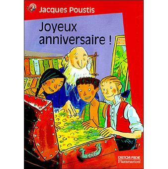Joyeux Anniversaire Poche J Poustis Claire Le Grand Achat
